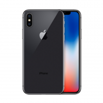 Apple iPhone X Space Gray 256GB Unlocked Fair Refurbished